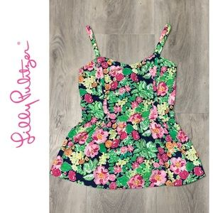 Lilly Pulitzer floral tank top